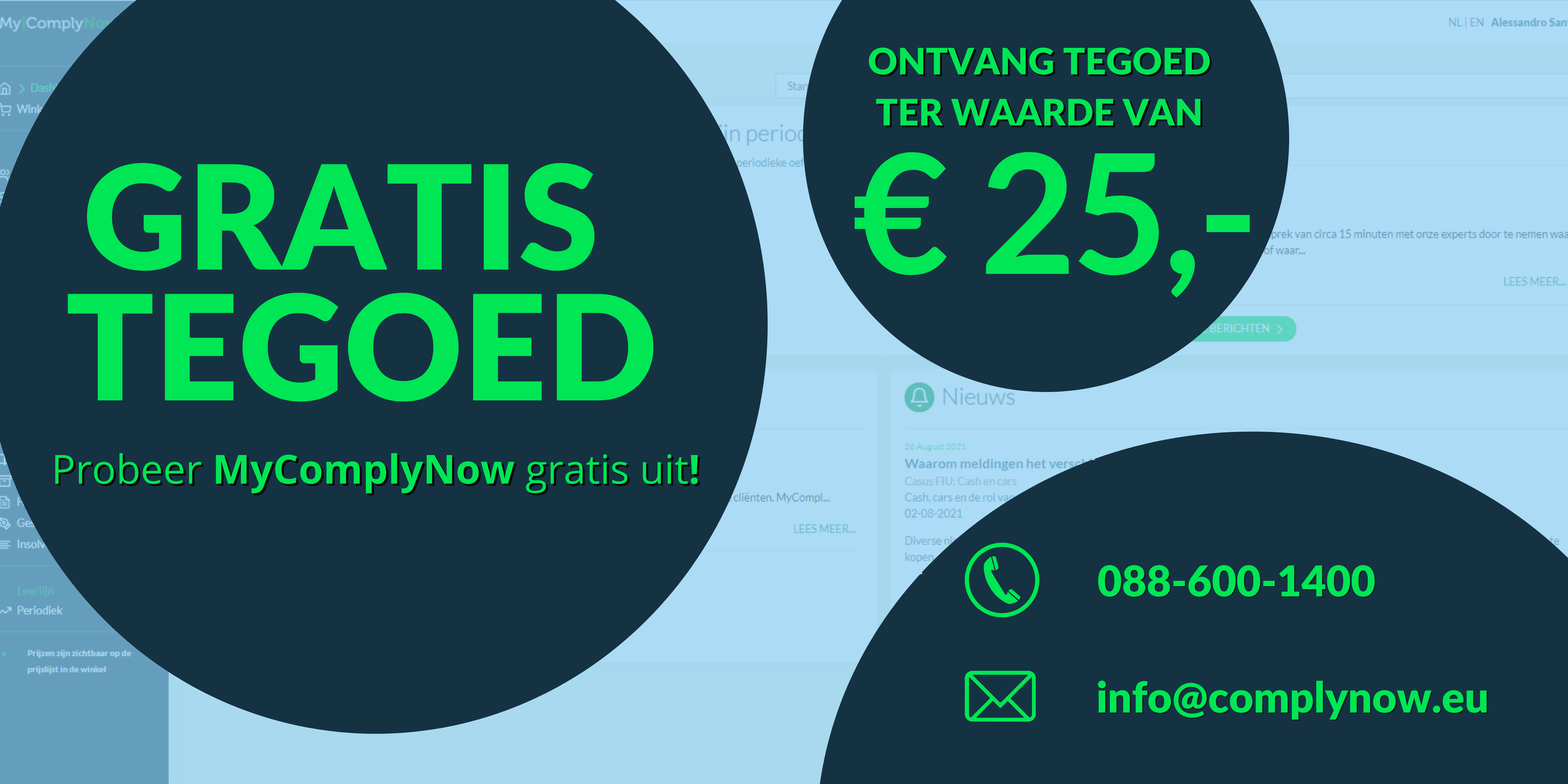 Banner actie MyComplyNow